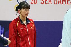 Mặt buồn xo nhận HCV thứ 5 tại SEA Games 2019, Ánh Viên bị nhắc nhở