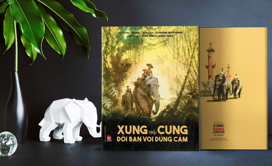 Đôi bạn voi - biểu tượng của tình bạn hai nước Việt Nam, Liên Xô
