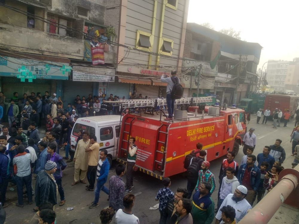 Cháy lớn ở thủ đô Ấn Độ, ít nhất 35 người thiệt mạng