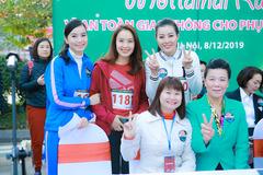 Thanh Hương, Hồng Diễm tham gia chạy để gây quỹ cho trẻ em