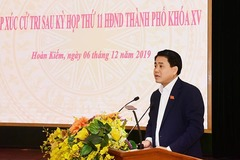 Clip: Ông Nguyễn Đức Chung tiếp xúc cử tri quận Hoàn Kiếm