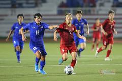 Nữ Việt Nam 1-0 nữ Thái Lan: Hải Yến lập công (Hiệp phụ)