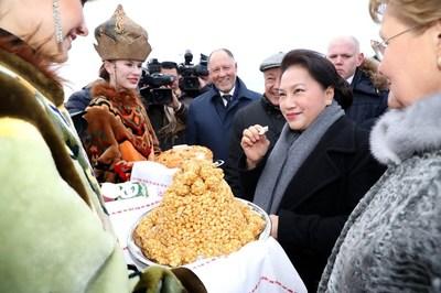 Chủ tịch Quốc hội bắt đầu thăm chính thức LB Nga
