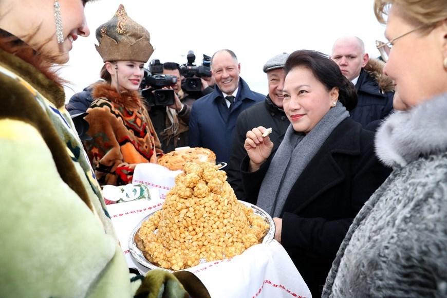 Nguyễn Thị Kim Ngân,Chủ tịch QH Nguyễn Thị Kim Ngân,Việt-Nga