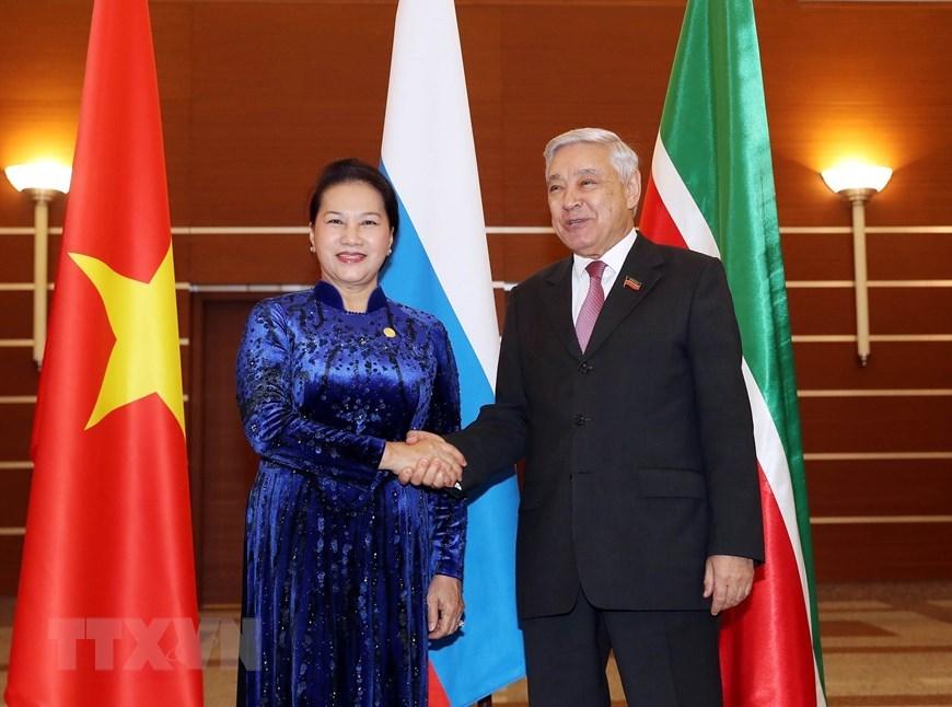 Thúc đẩy quan hệ hợp tác nhiều lĩnh vực giữa Việt Nam và CH Tatarstan
