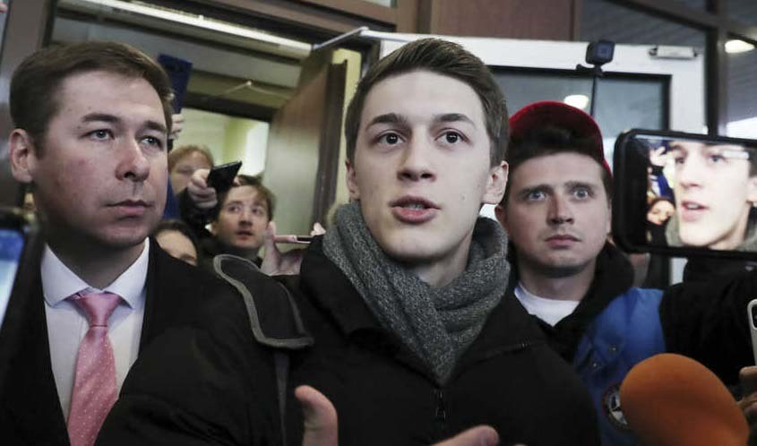 Xúc phạm Tổng thống Putin, blogger Nga bị tù treo