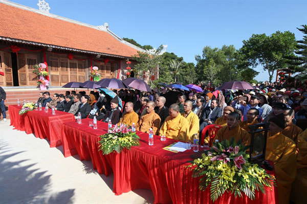 Buddhist pagoda inaugurated in Co To Island