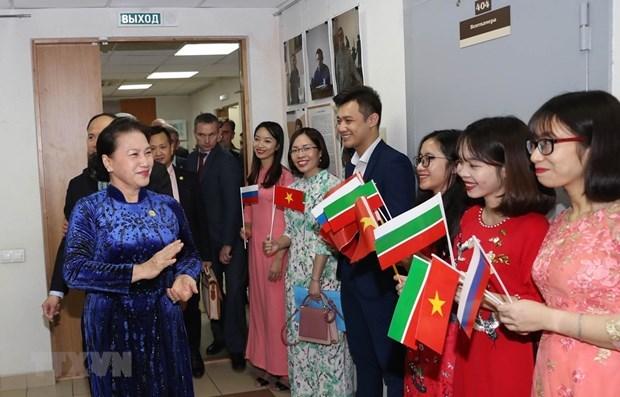 National Assembly Chairwoman Nguyen Thi Kim Ngan,Vietnamese community in Kazan,Chairman of the State Council parliament of Tatars,Vietnamese Association in Kazan,Russia,Vietnam,Vietnam news