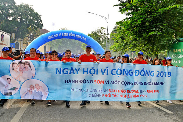 Strong partnership to prevent non-communicable diseases threats at earl stage in VN