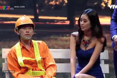 Hoa hậu Khánh Vân giành 20 triệu khi đóng hài cùng Hoài Linh, Xuân Bắc