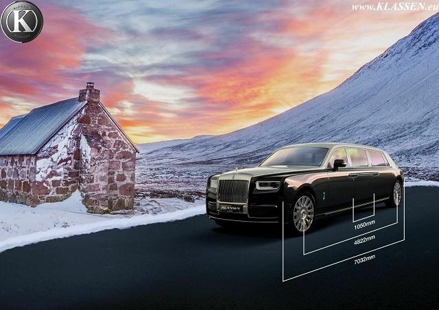 Rolls-Royce dài 7 mét giá 77 tỷ chỉ dành riêng cho khách VIP