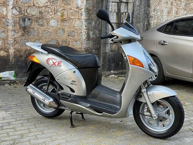 Xe máy cũ 15 năm, Honda @150 vẫn có giá đắt 80 triệu đồng