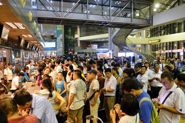 22 sân bay Việt bằng 1 sân bay Thái, Nội Bài, Sài Gòn, Đà Nẵng quá tải