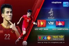 Xem trận U22 Việt Nam - U22 Campuchia trên dịch vụ MobileTV