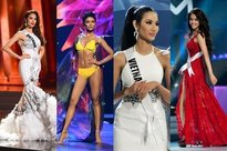 Nhìn lại thành tích của 12 người đẹp đại diện Việt Nam thi Hoa hậu Hoàn vũ