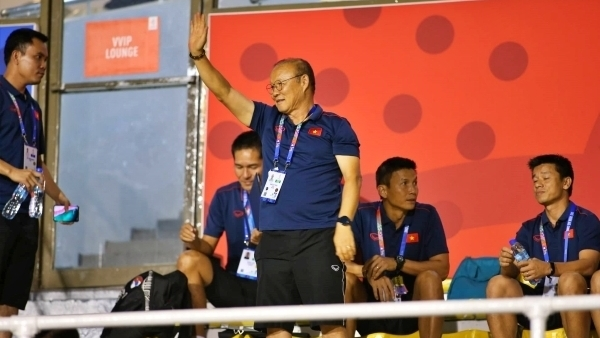 Coach Park sets determination to win first SEA Games gold medal with Vietnam U22s