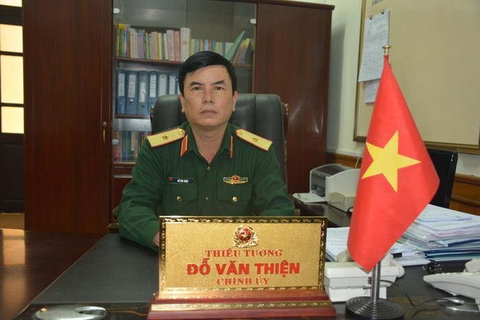 Thiếu Tướng đỗ Văn Thiện Giữ Chức Chinh ủy Tổng Cục Hậu Cần