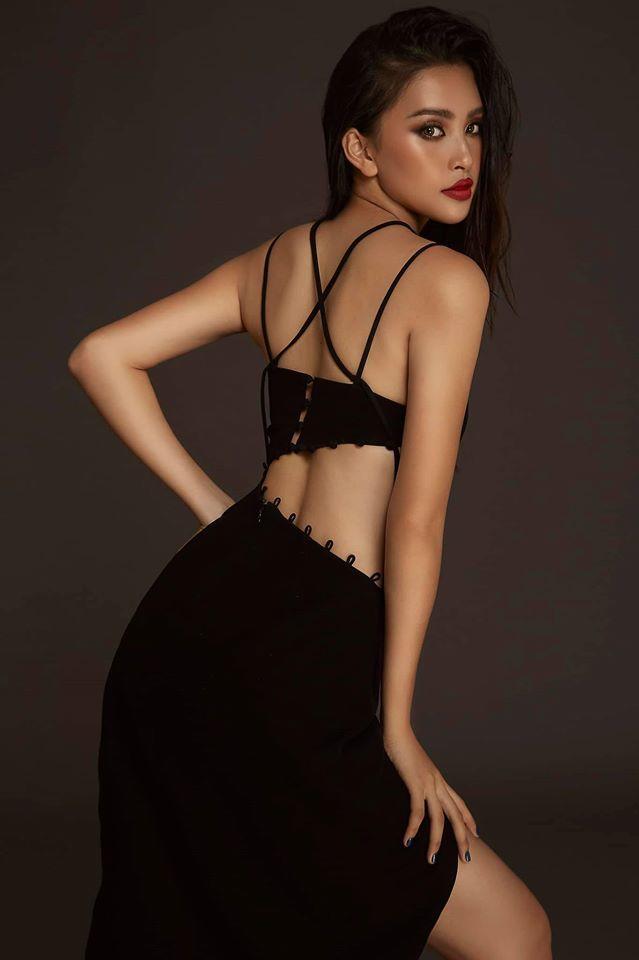 Những lần khoe eo thon, lưng cong ngực đầy của Hoa hậu Tiểu Vy