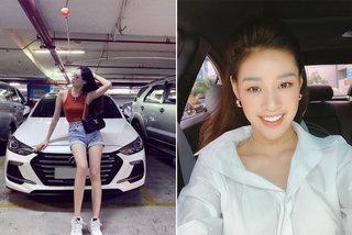 Bất ngờ với 2 chiếc xế hộp mà Hoa hậu Hoàn vũ Việt Nam Khánh Vân đang sở hữu