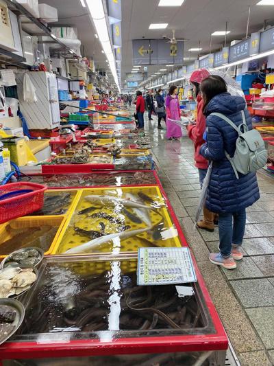 Hải sản Busan - quà tặng tuyệt vời của biển cả