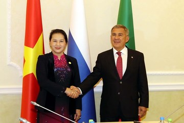 Top legislator meets President of Russia's Tatarstan