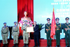 63 military personnel at Level 2 Field Hospital honoured
