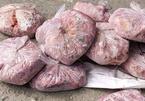 Bắt xe container chở 10 tấn lòng lợn bốc mùi hôi thối ở Hà Tĩnh