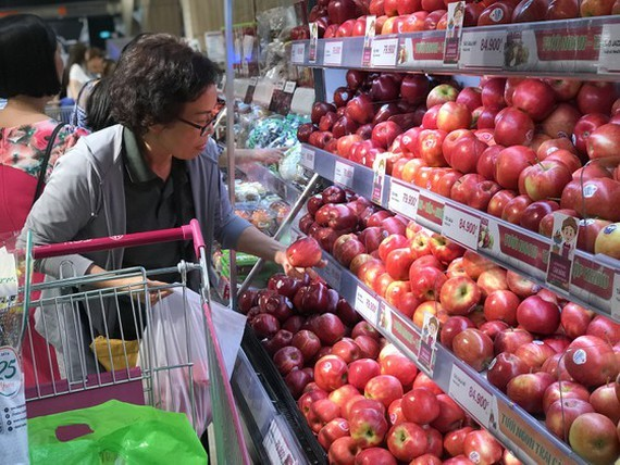 Vietnam,vegetables,fruits import,foreign fruits