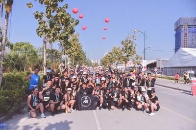 Hơn 100 thành viên AR Saigon trở lại Marathon Quốc tế TP.HCM Techcombank