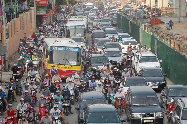 Hanoi plans to ease traffic congestion as Tet nears