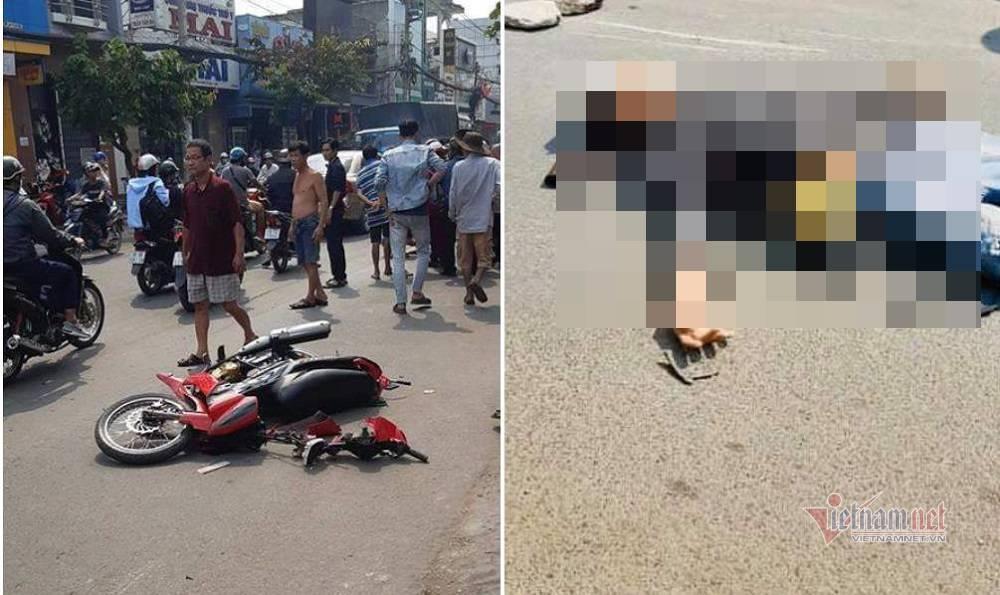 Nghi vấn giật dây chuyền rồi ngã xe máy chết sau tai nạn ở Sài Gòn