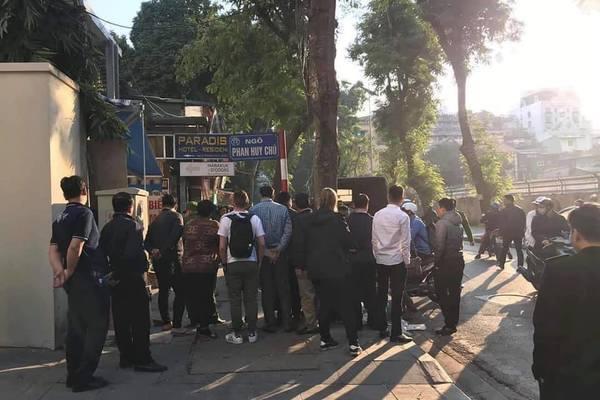 Công an Hà Nội xác minh nghi vấn nổ súng tại ngõ Phan Huy Chú