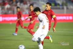 U22 Việt Nam 0-0 U22 Indonesia: Đức Chinh suýt ghi siêu phẩm (H1)