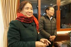 Mẹ Hà Đức Chinh mổ 2 con trâu, làm cỗ to mừng con trai trở về