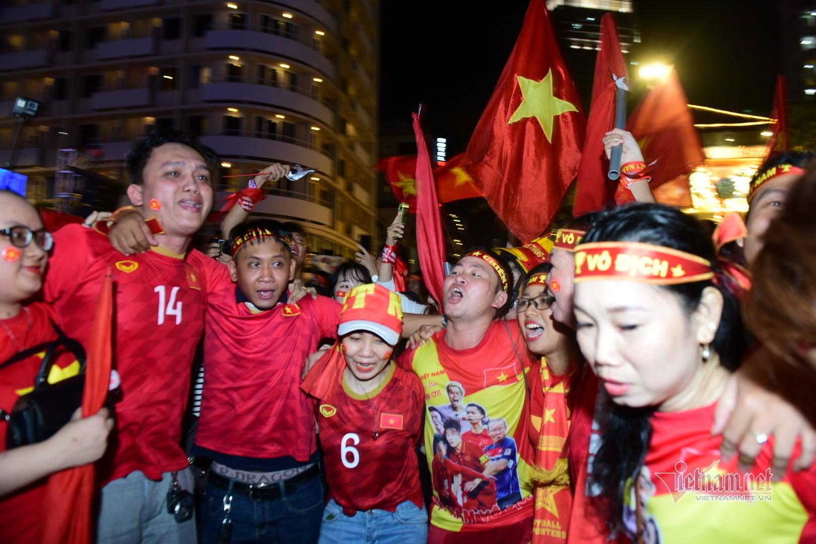 U22 Việt Nam,SEA Games 30,Phố Đi Bộ Nguyễn Huệ,Viet Nam vs Indonesia