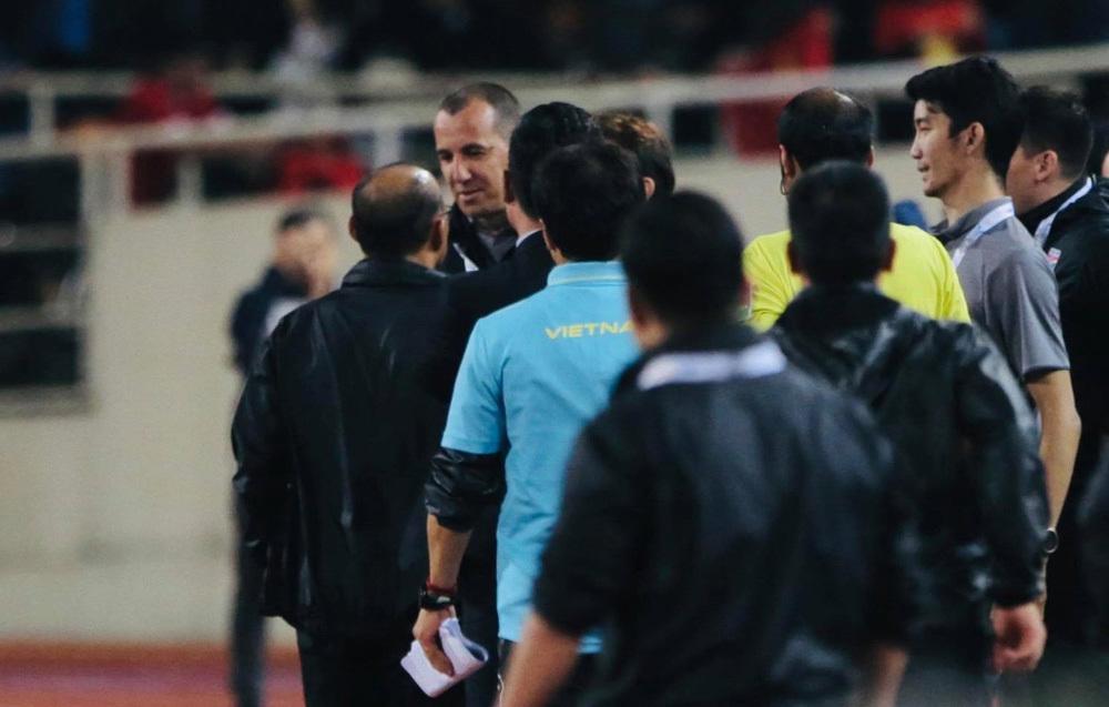 Những lần ông Park phản ứng quyết liệt để bảo vệ học trò