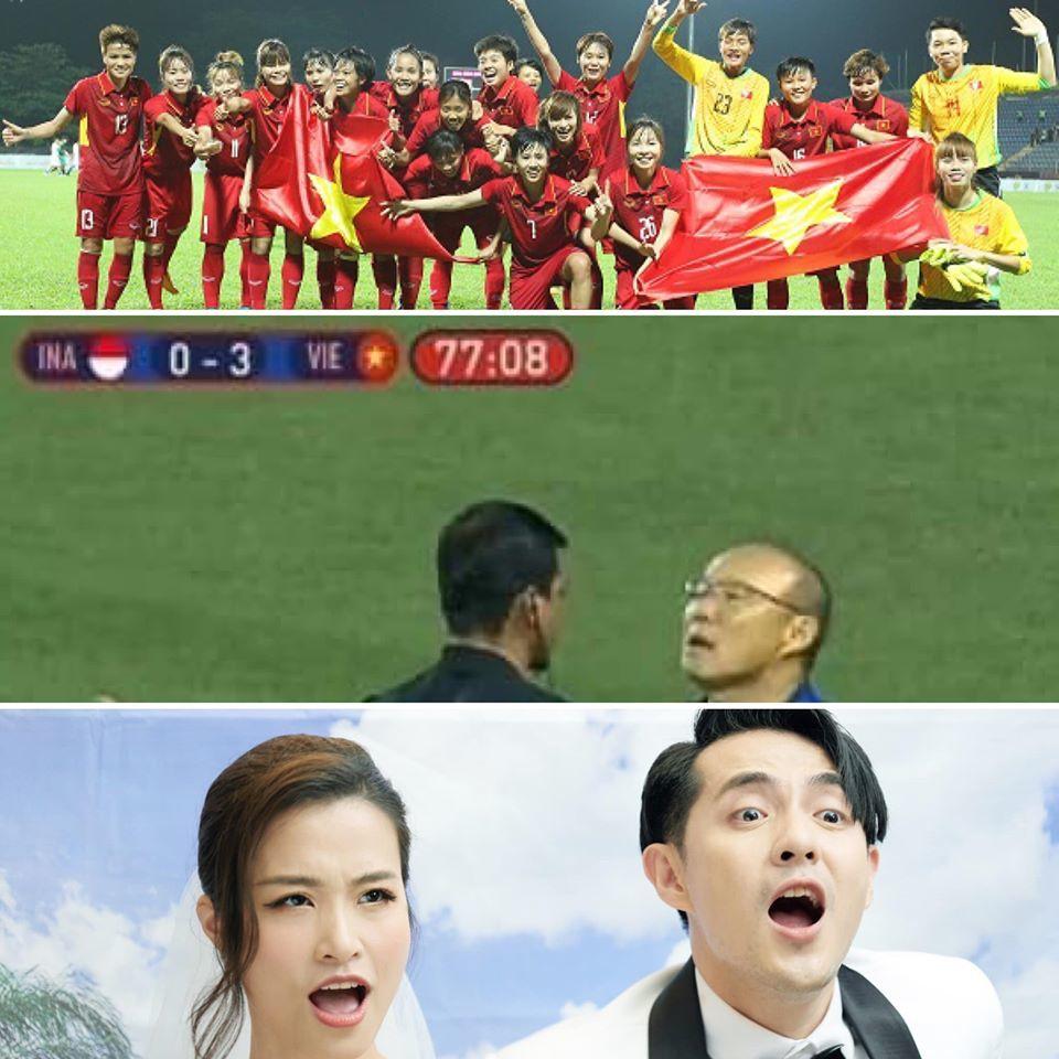 Muôn kiểu Sao Việt ăn mừng chiến thắng của tuyển Việt Nam ở Sea Games