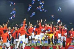 """Những khoảnh khắc """"Vàng"""" của bóng đá Việt Nam năm 2019"""