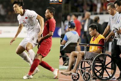 Thua Việt Nam, CĐV Indonesia ấm ức chấn thương của Evan Dimas