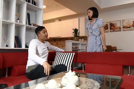 'Hoa hồng trên ngực trái': Khang trơ mặt dọn đồ đến nhà San sống chung