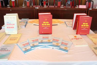 Nhà xuất bản Chính trị Quốc gia ra mắt hơn 500 ấn phẩm sách