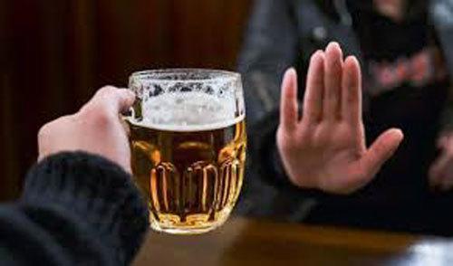cấm rượu bia