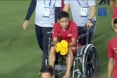 Văn Hậu xin lỗi vì gây chấn thương cho Evan Dimas