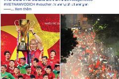 Hàng quán đua nhau giảm giá ăn mừng đội tuyển bóng đá Việt Nam giành huy chương vàng SEA Games