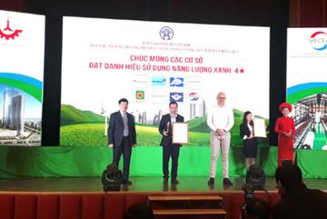 MM Mega Market Thăng Long đạt danh hiệu Năng lượng xanh