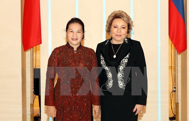 Vietnamese, Russian top legislators hold talks