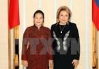 Vietnamese, Russian top legislators hold talks