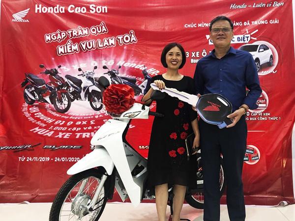 Honda VN tiếp tục 'thổi bay' hơn 20 tỷ đồng quà tặng