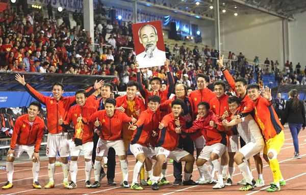 With SEA Games' gold medal, U22 VN receive big bonus