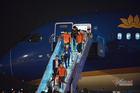 Những nhà vô địch SEA Games hạ cánh xuống Nội Bài